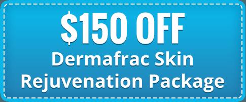 $150 Off Dermafrac Skin Rejuvenation Package